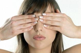 eye exercises when working at a computer