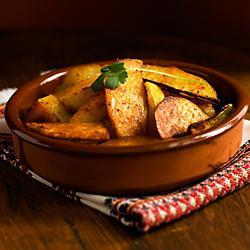 calorie fried potatoes