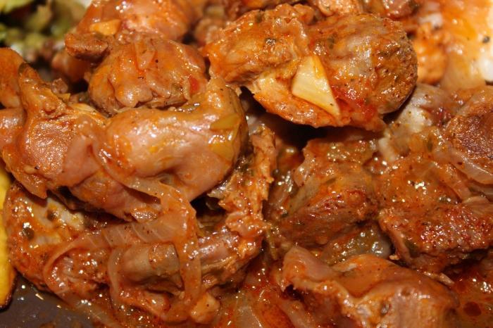 Как приготовить куриные желудки вкусно пошагово с