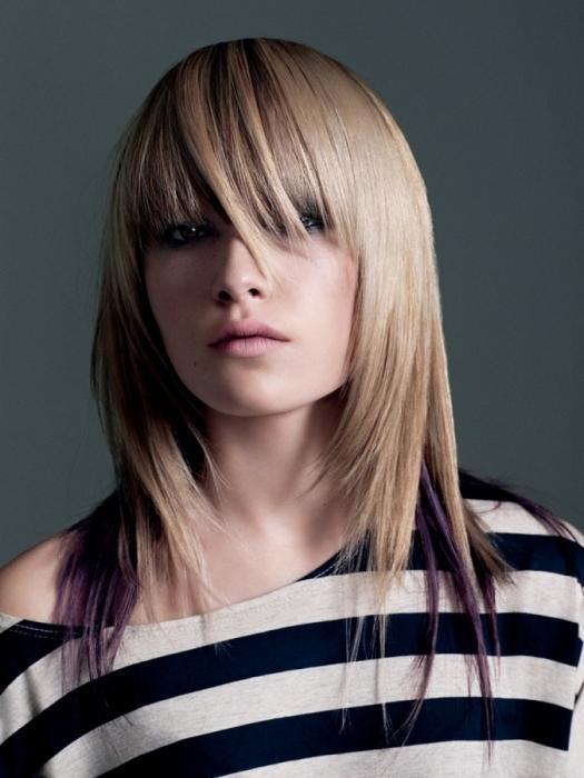 Классные стрижки для средних волос