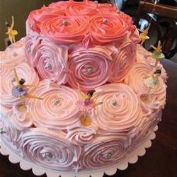 Как сделать розы на торт из белкового