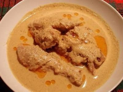 satsivi from chickens