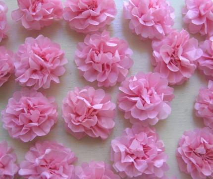 Цветы из гофрированной бумаги своими руками и