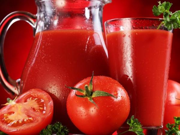 the use of tomato juice