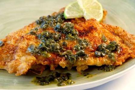 рецепт приготовления морской рыбы филе