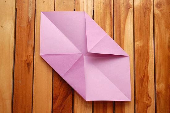paper origami envelope