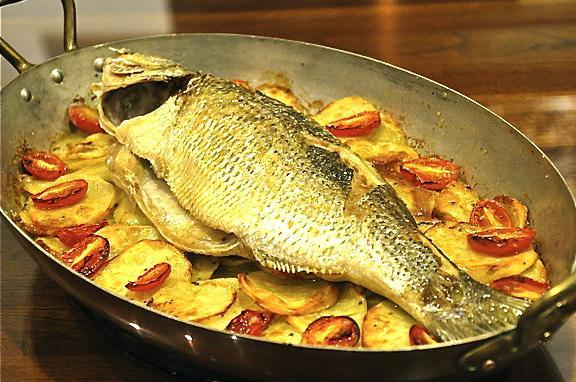 рыба окунь с картошкой в духовке рецепты