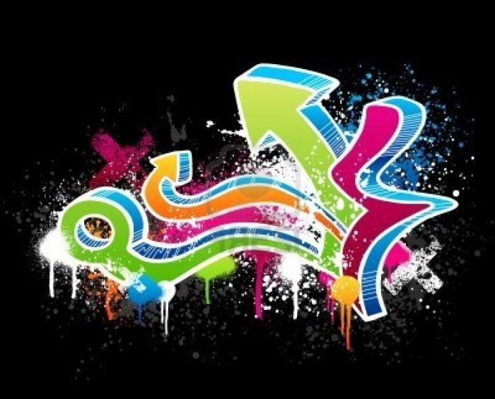Уроки граффити на бумаге карандашом