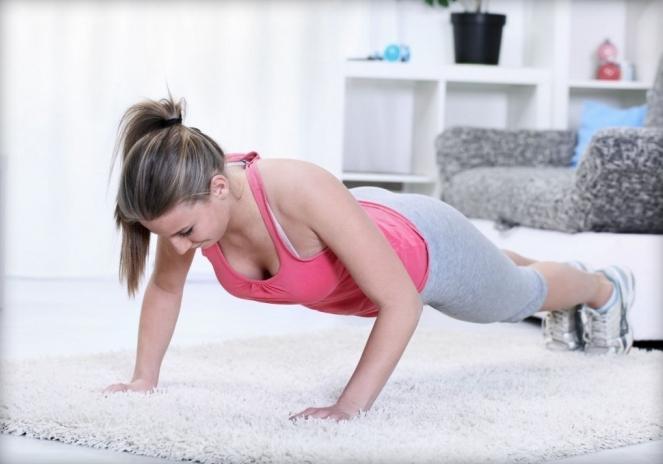 фитнес упражнения для сжигания жира на животе