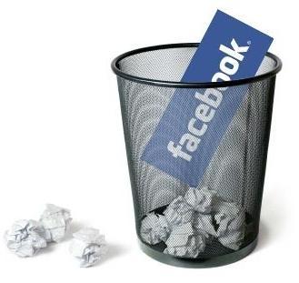 Как удалить страницу в facebook и при