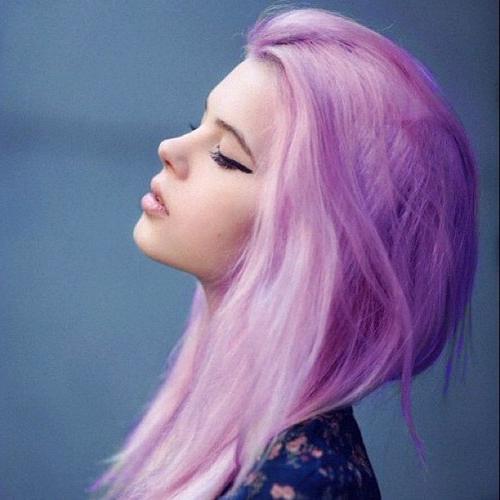Нежный тренд фиолетовые волосы syl ru