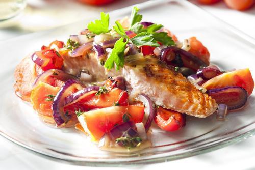 fried fish under marinade