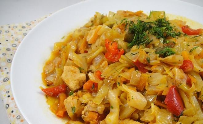 cabbage stew recipe