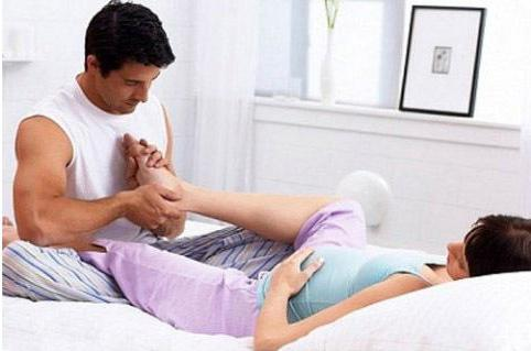 Отеки при беременности массаж