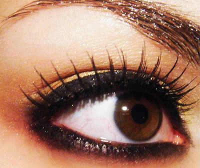 как сделать глаза более большими