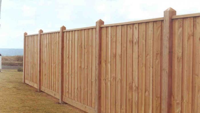 Забор строим своими руками