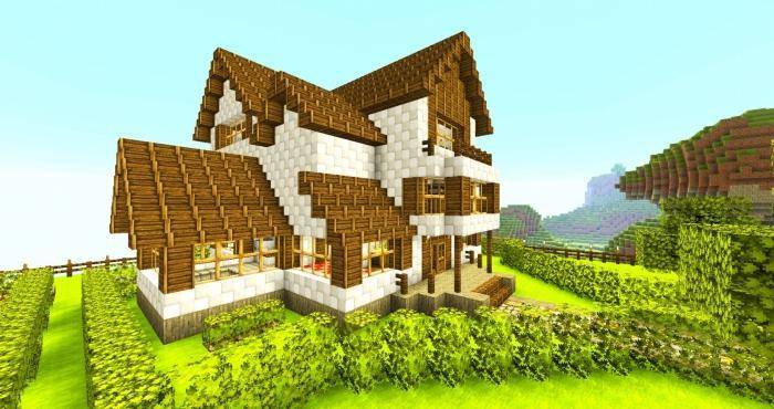 Как построить дом в Minecraft легко и быстро