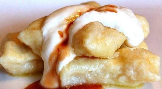 recipe for lazy dumplings of cottage cheese