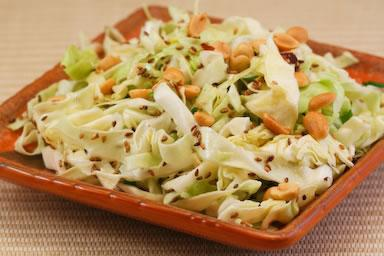 cabbage salad with carrots