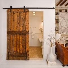 Sliding doors for bathrooms