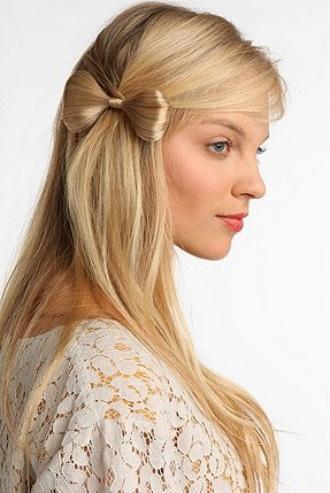 Как сделать рожки из волос на голове ребенку14
