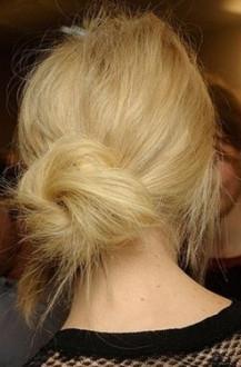 Секрет: как сделать красивый пучок из волос