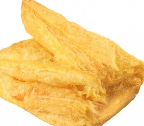 Печенье из слоеного теста ушки рецепт