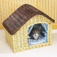 Мастерим домик для кошки своими руками