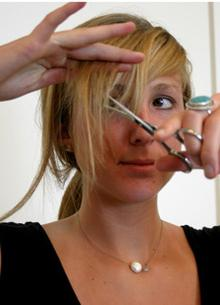 Как можно подстричь волосы средней длины фото - 8b
