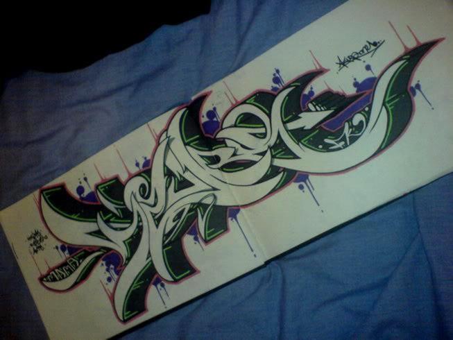 Как сделать трафарет для граффити