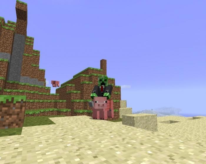 Майнкрафт как найти деревню - 6e95