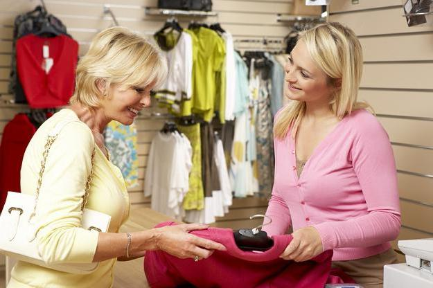 duties of the seller of a clothing consultant