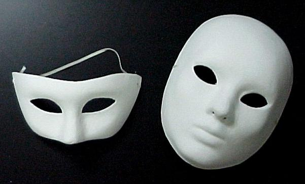 как сделать маску из латекса