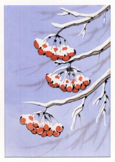 Таким образом сделайте шесть кисточек и скрутите гроздь.  Рябина из бисера делается очень легко.