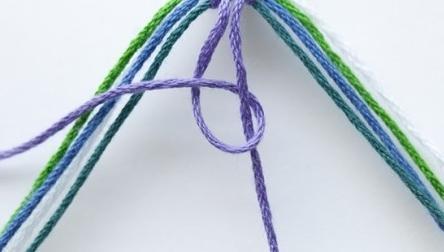 основные узлы фенечек