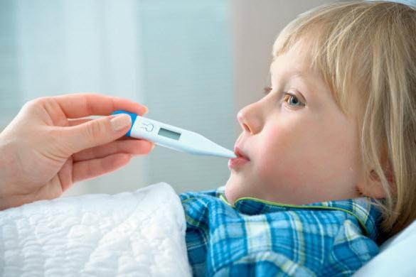 Орви с высокой температурой как лечить у детей