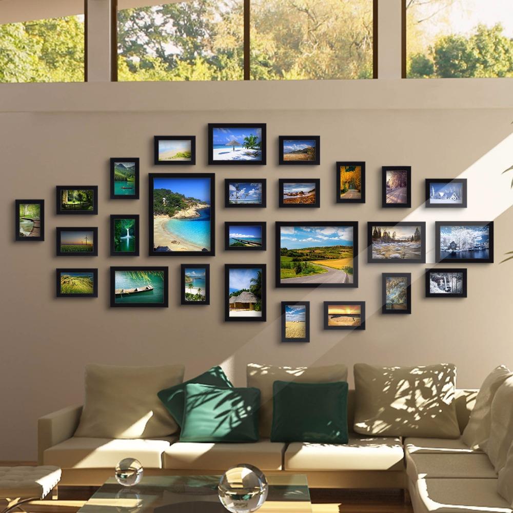 идеи как в доме развесить фотографии берлине