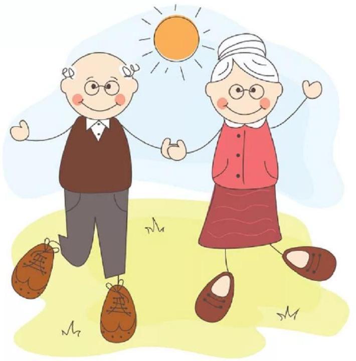 Мая, рисунок открытка ко дню пожилого человека для детей