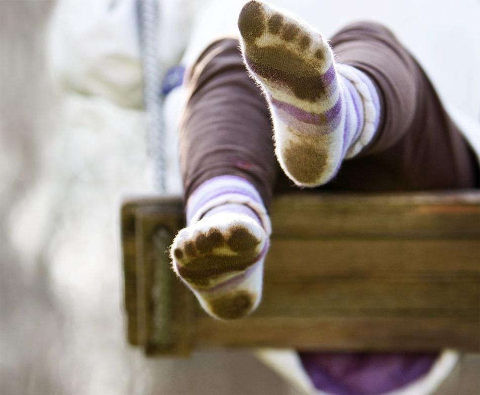 Картинка как стирать носки