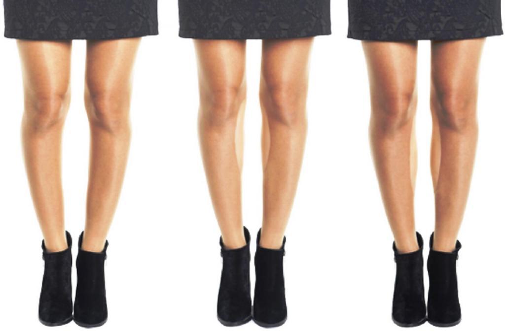 девушки как скрыть кривые ноги фото образом для вас