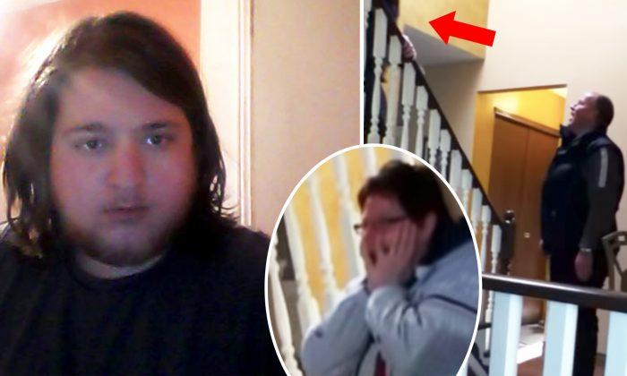 парень сильно похудел