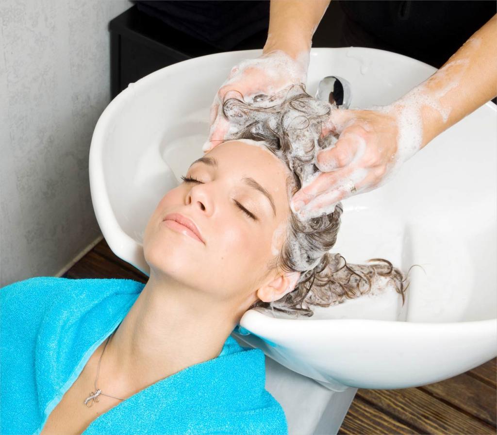 Картинки мытья волос