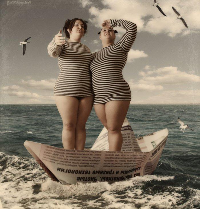Шуточные картинки подруги на море