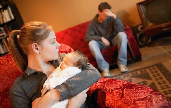на грани развода после рождения ребенка