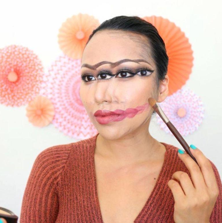качестве прикольные картинки макияж для себя решили возиться