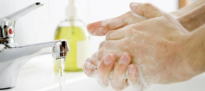 reducing infection through handwashing