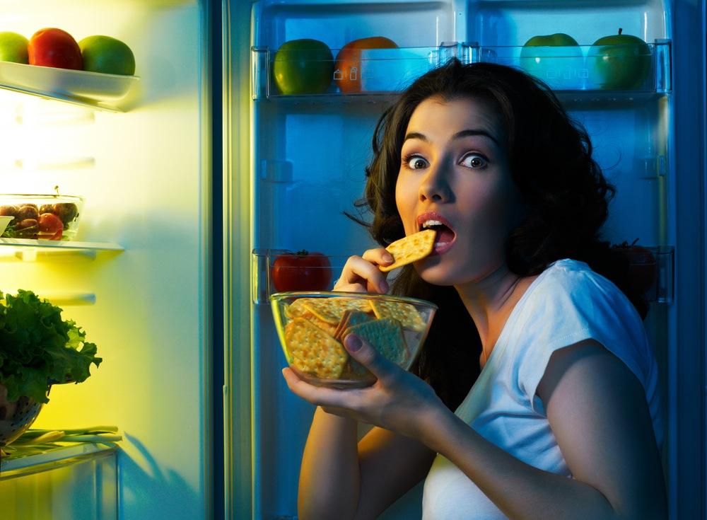 Днем не ем а вечером ем