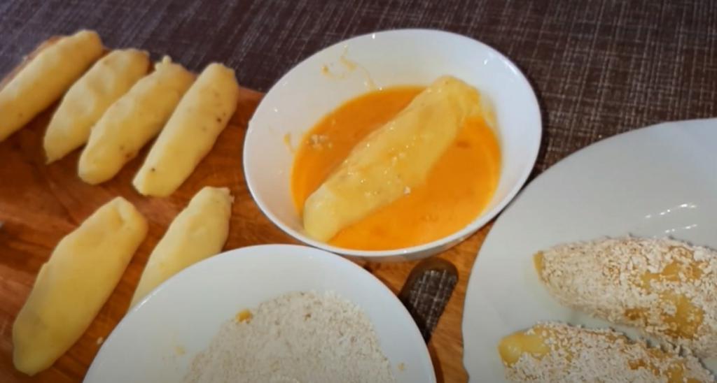 Отварной молодой картофель под сырным соусом рецепт с фото пошагово