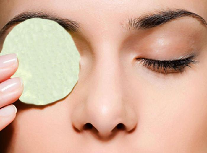 Как избавиться от следов очков на лице?