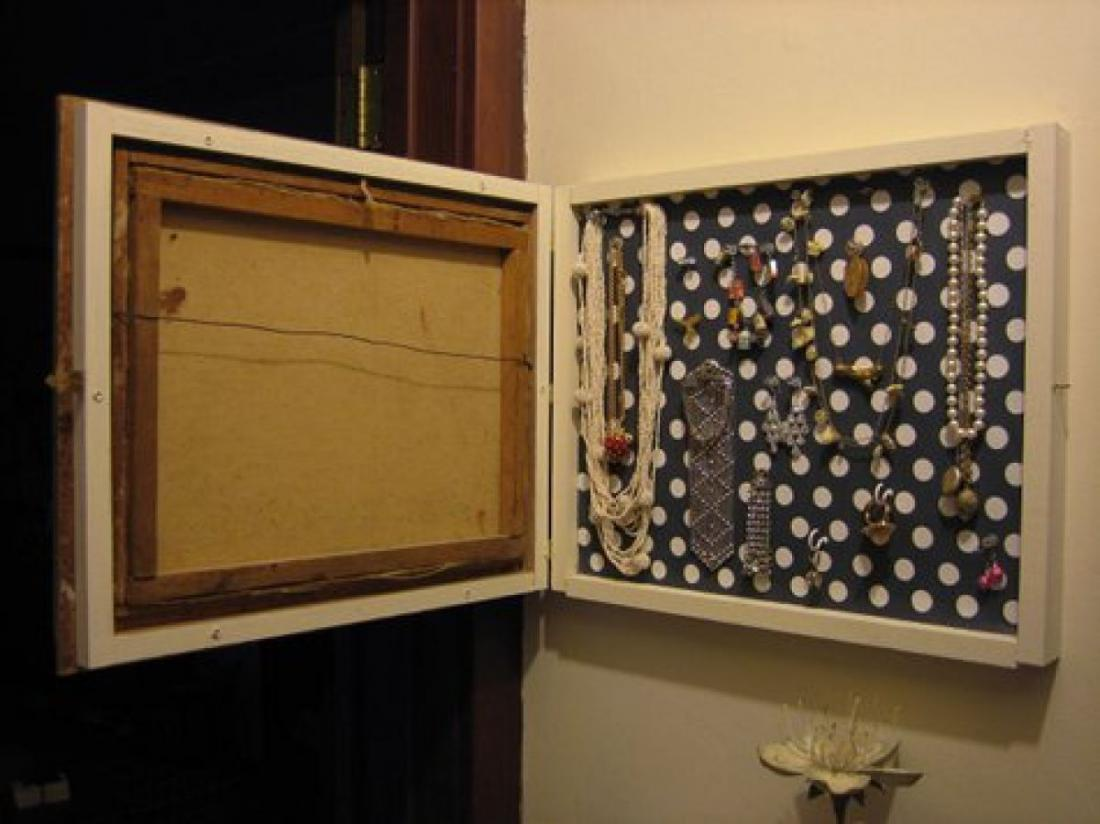 Шкафчики для украшений своими руками